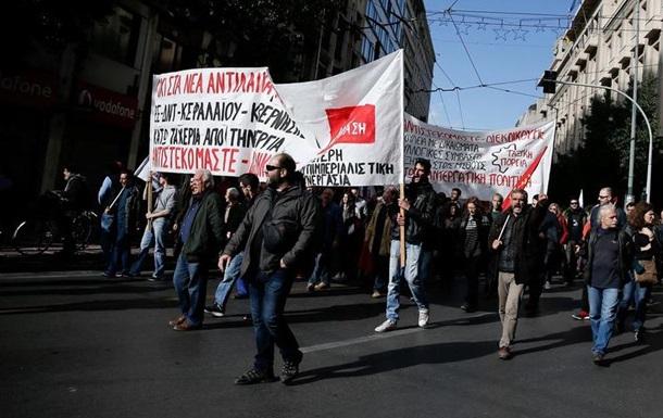 Грецький транспорт готується до паралічу через страйк та протести