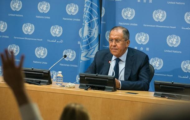 Цинічна заява Лаврова: Мипродовжуємо поважати територіальну цілісність України