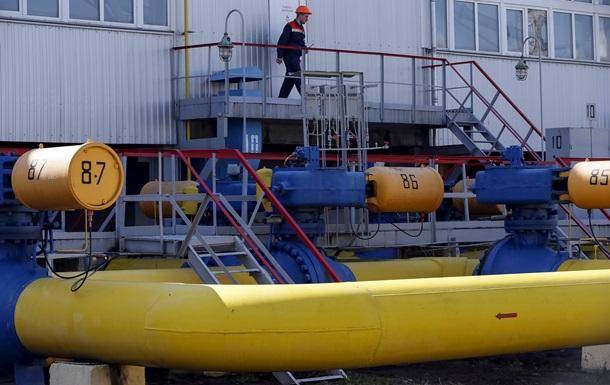 Україна через морози збільшила відбір газу зі сховищ