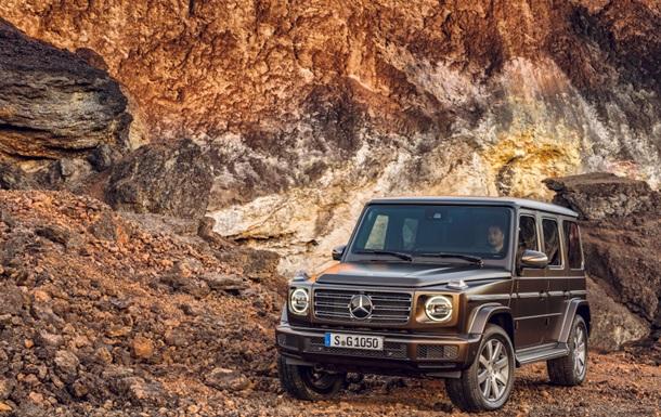 Mercedes-Benz показал новый внедорожник G-Class