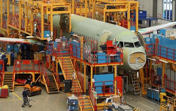 Airbus випередив Boeing за обсягом замовлень