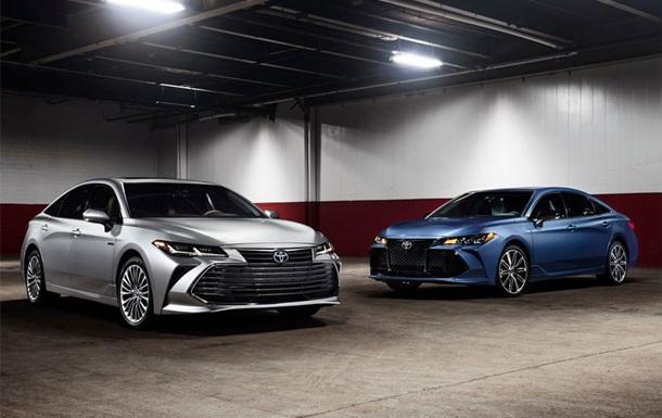 Toyota представила оновлений седан Avalon