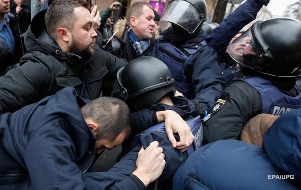 У сутичках під Радою постраждав поліцейський