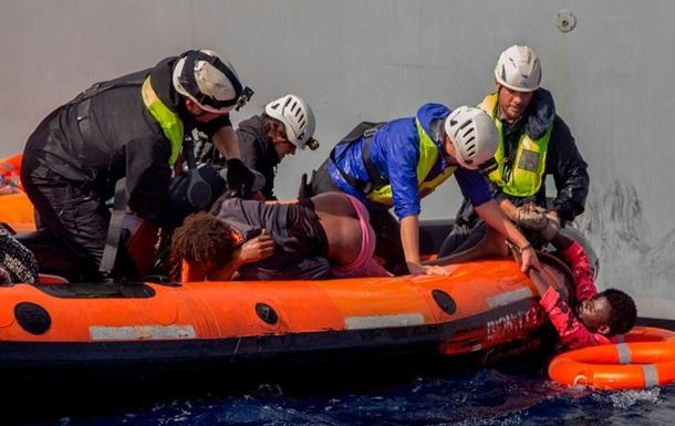 За добу в Середземному морі врятували близько 1400 мігрантів