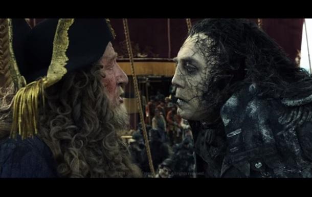Спецэффекты последних «Пиратов» соединили в видео