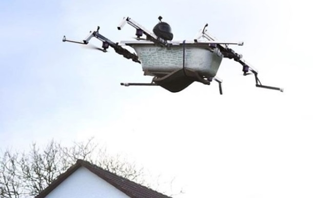 В Германии создали «летающую ванну»