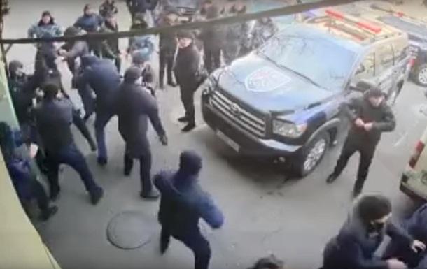 В Одесі охоронні фірми влаштували масову бійку