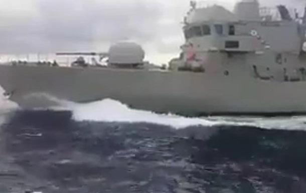 В Егейському морі зіткнулися патрулі Греції та Туреччини
