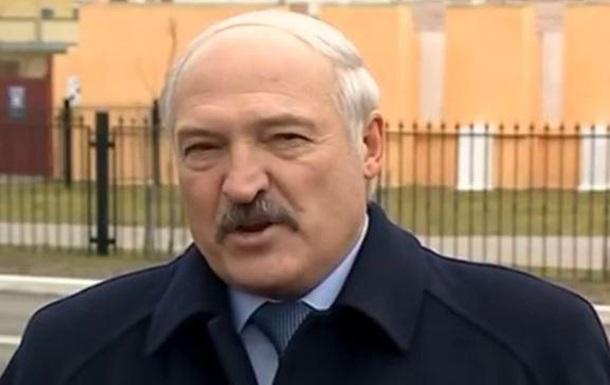 Лукашенко назвал белорусов дерьмом