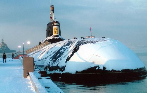 Росія утилізує найбільші в світі підводні човни