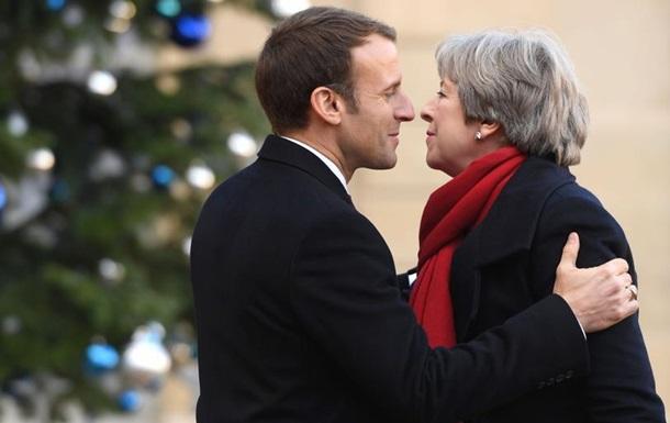 Мей і Макрон домовилися про посилення контролю на кордоні в Кале