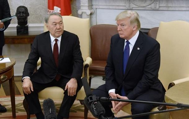 Назарбаев и Трамп обсудили минские переговоры по Донбассу
