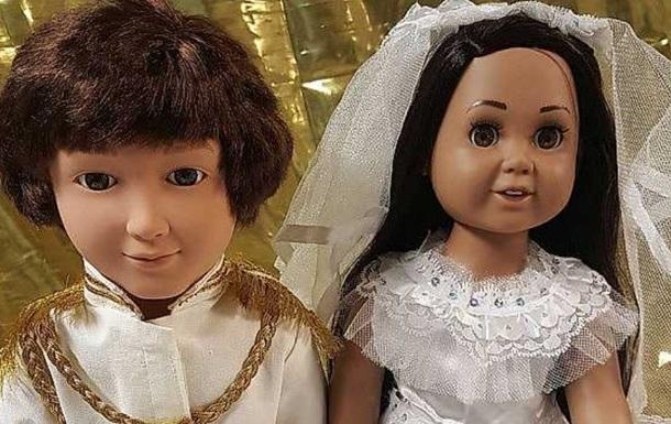 Принца Гаррі і Меган Маркл  перетворили  на ляльок