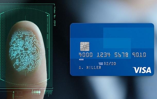 У банківські карти карти вмонтують сканер відбитка пальця