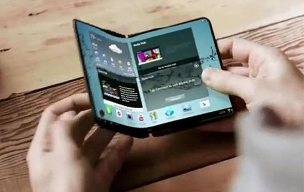 LG запатентовала складной смартфон-планшет