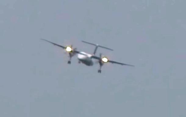 У Німеччині літак здійснив екстремальну посадку під час урагану