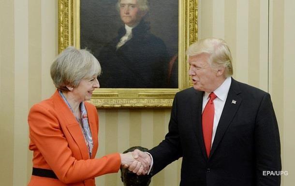 Трамп зустрінеться з прем єром Британії в Давосі