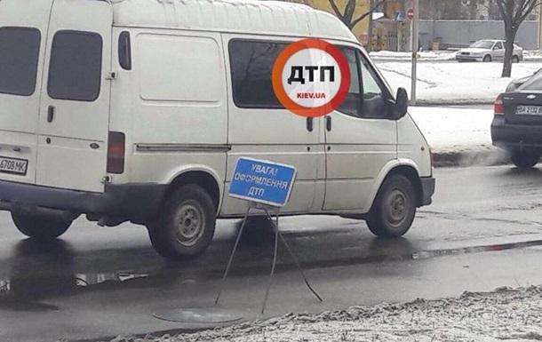 У Києві вантажівка переїхала чоловіка