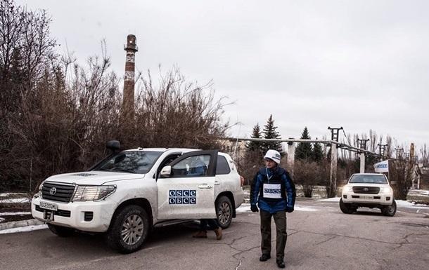 ОБСЕ за сутки зафиксировала 340 взрывов на Донбассе