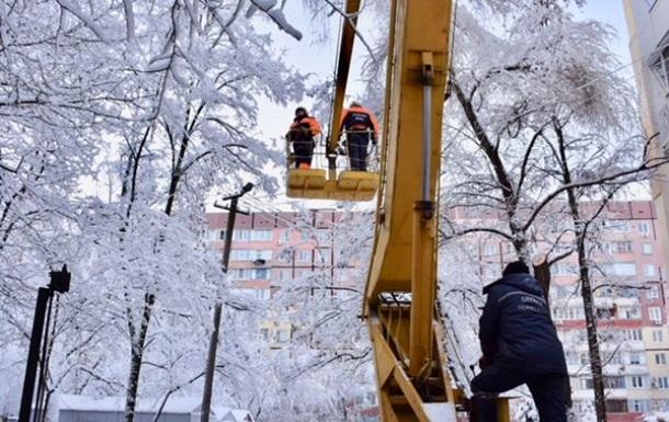 В Україні без світла 174 населених пунктів