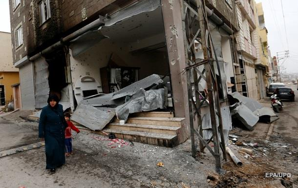 В Турции заявили про ракетные удары курдов