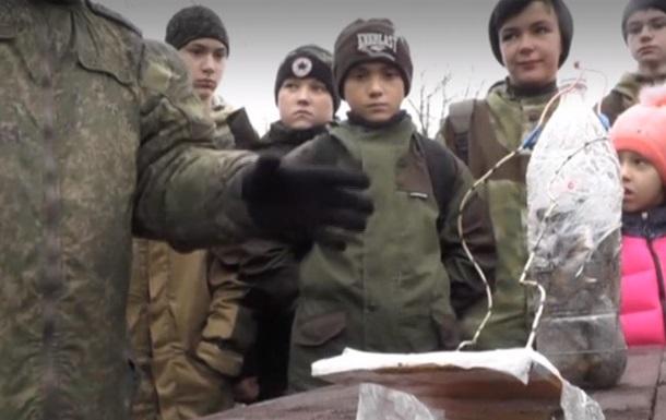 У Криму школярів вчили встановлювати міни