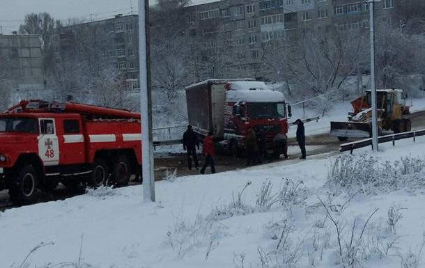 В Запорожской области ограничено движение фур