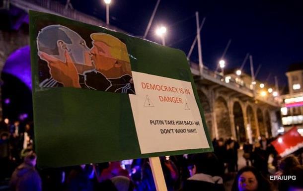 Not welcome, сексисте: акція проти Трампа в Давосі