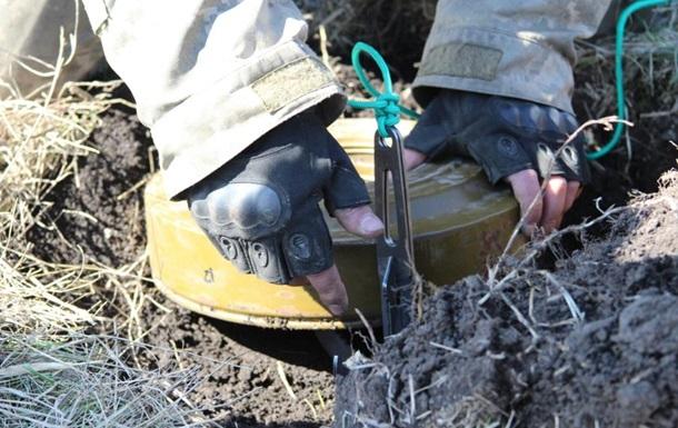 ОБСЄ: Мінування на Донбасі триває