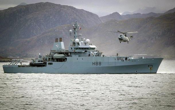 В Черное море вошел военный корабль Великобритании