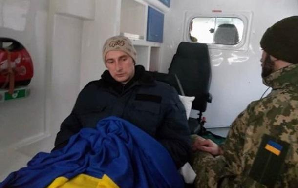 Из плена ОРДЛО освободили украинского военного
