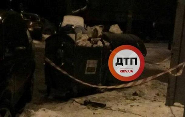 В Киеве в мусорном баке нашли боевой фугас