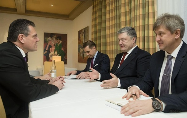 Порошенко в Давосі підняв питання інтеграції енергоринку України