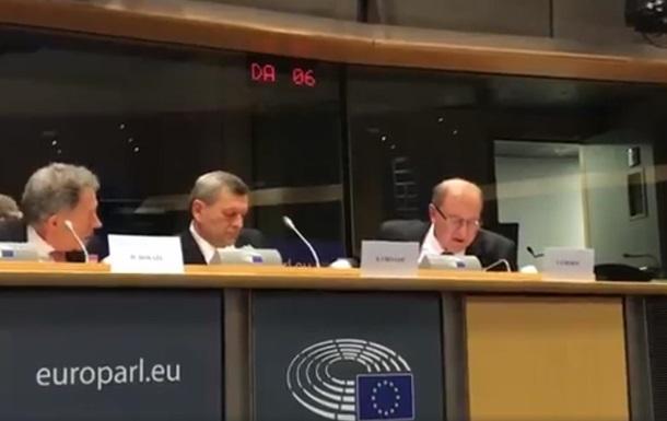 Умеров и Чийгоз рассказали в Европарламенте о нарушениях прав в Крыму