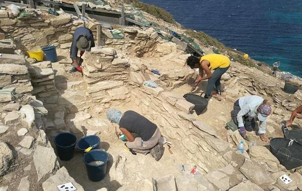 На греческом острове нашли древние сооружения