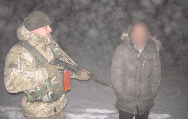 В Сумской области задержали украинца, пытавшегося нелегально попасть в РФ