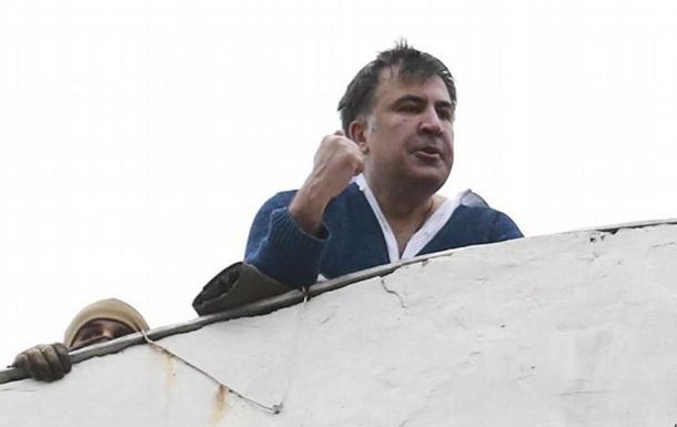 Саакашвілі: Я не грозився стрибнути з даху
