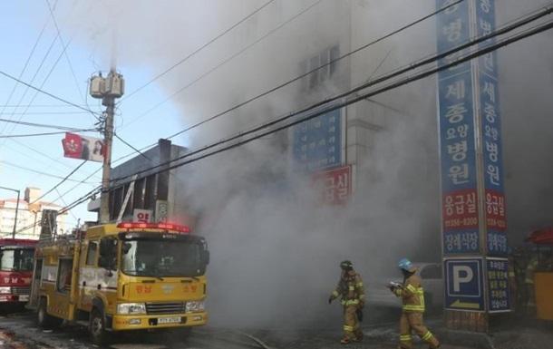 Пожар в больнице Южной Кореи: более 30 жертв