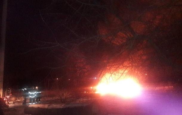 Крушение вертолета в Кременчуге: пожар ликвидировали