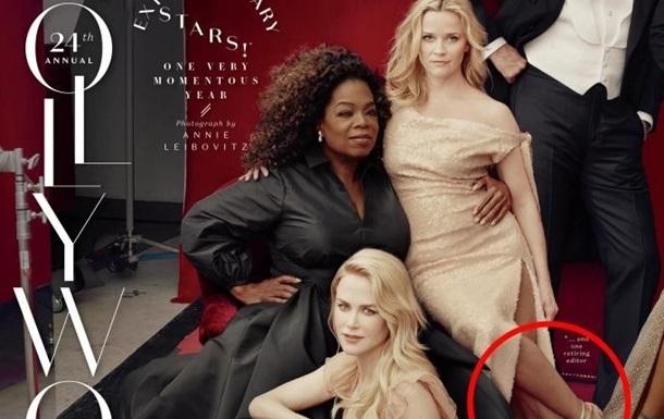 Голливудская артистка оказалась наобложке стремя ногами— Боги фотошопа