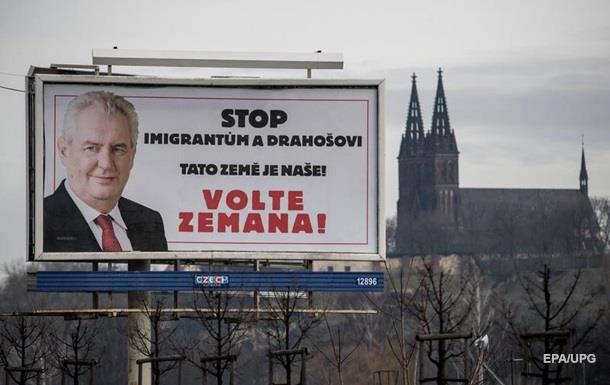 Милош Земан высмеял Иржи Драгоша нателедебатах— Выборы вЧехии