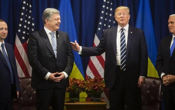 Порошенко рассказал о переговорах с Трампом