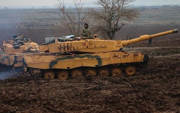 Армия Турции расширяет зону контроля в Сирии