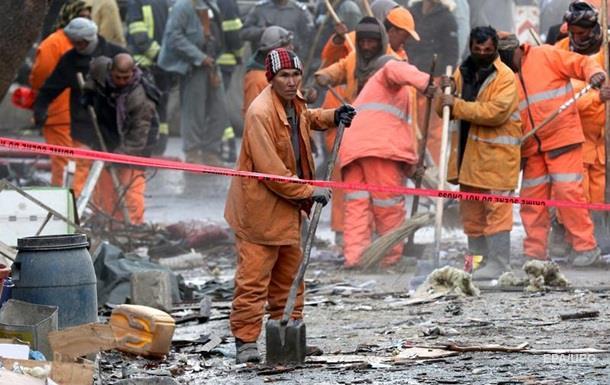 Взрыв в Кабуле:число погибших приблизилось к 100