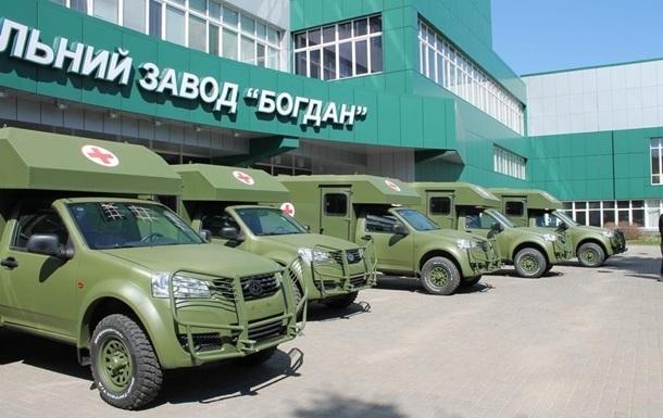 Половина поставленных на Донбасс авто Богдан сломались – волонтер