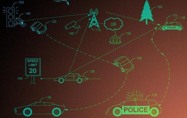 Ford запатентовал прячущийся полицейский автомобиль