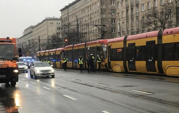 В Варшаве столкнулись три трамвая, 11 пострадавших
