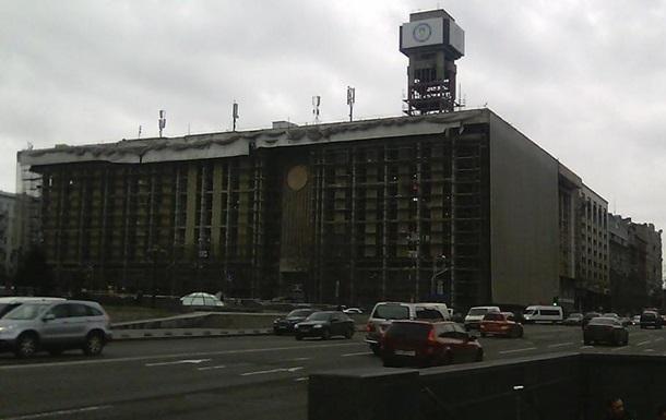Фасад відновленого після Майдану Будинку профспілок відкриють у квітні