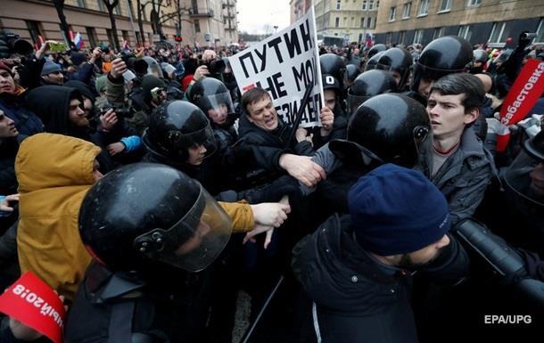 В России отпустили всех задержанных на протестах