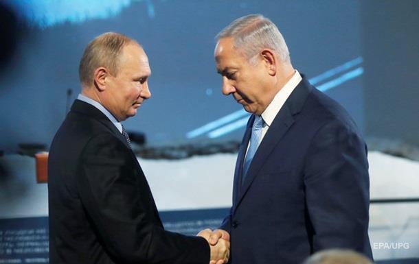 Премьер Израиля  очень хорошо  поговорил с Путиным
